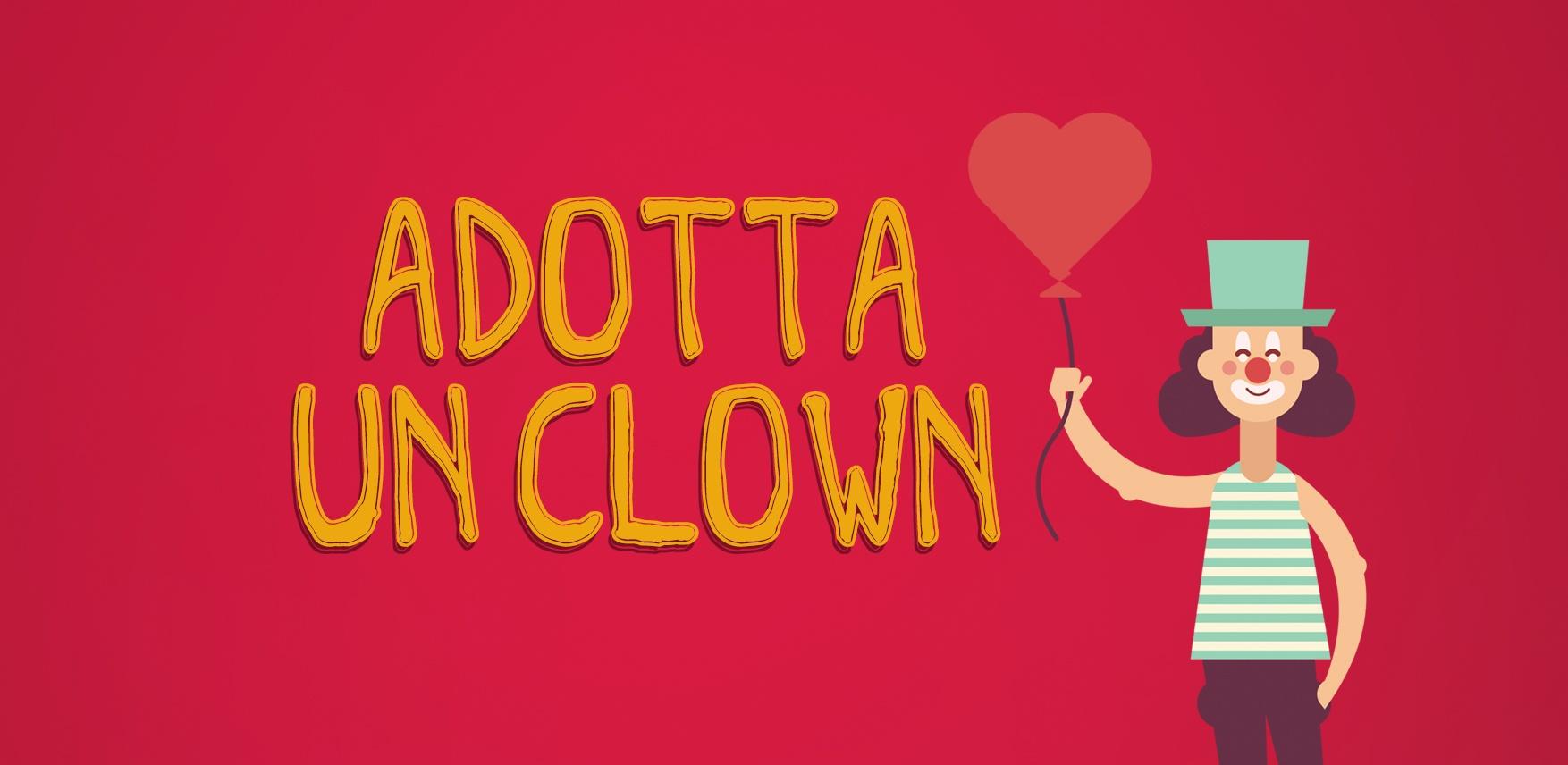 Adotta un Clown e sostieni i progetti del Sorriso