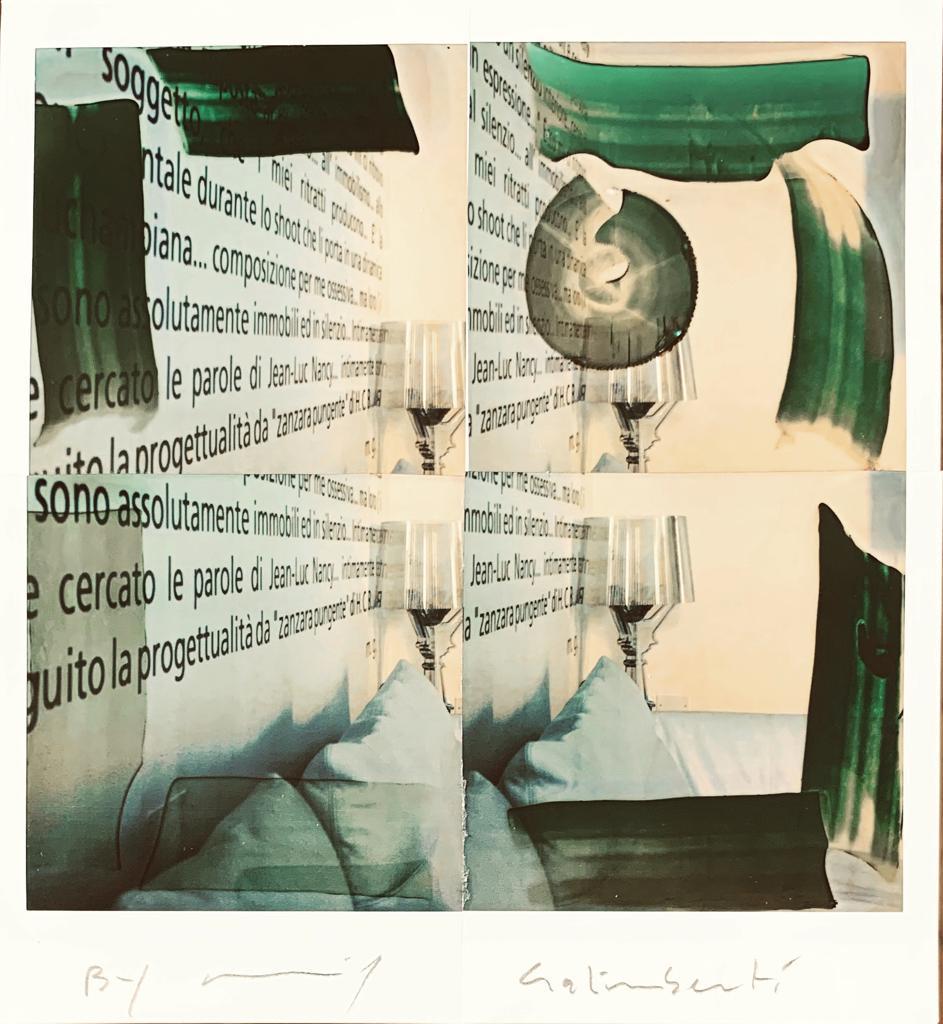 Fotografie solidali di Maurizio Galimberti CV ... a casa ... con lo sguardo ed i sogni dentro la casa ... n 10