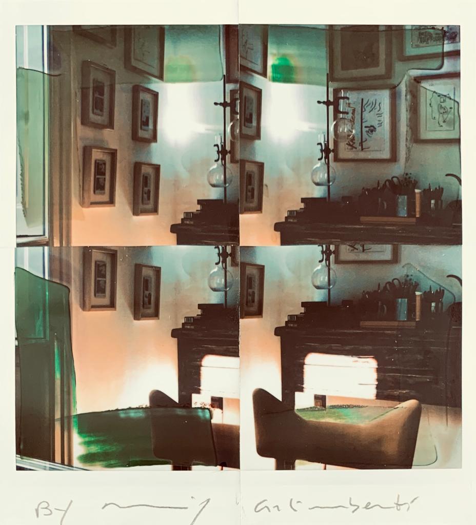 Fotografie solidali di Maurizio Galimberti CV ... a casa ... con lo sguardo ed i sogni dentro la casa ... n°12