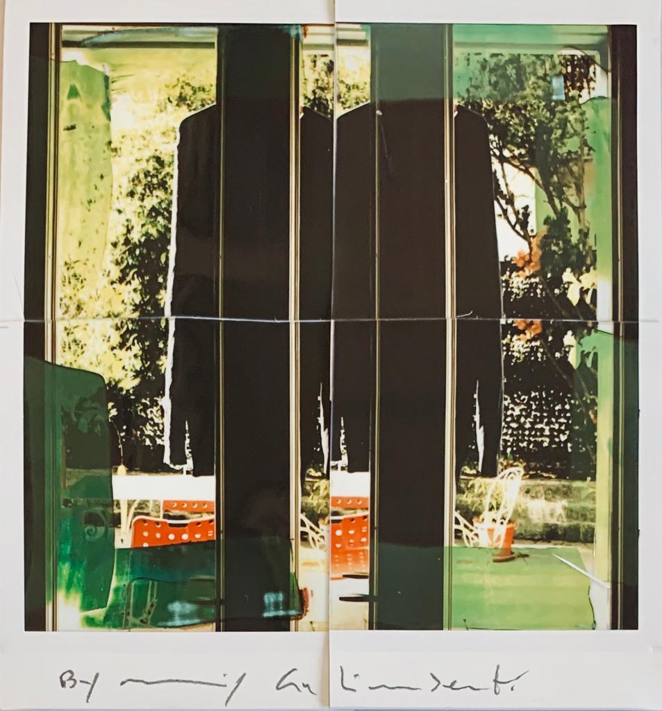 Fotografie solidali di Maurizio Galimberti CV ... a casa ... con lo sguardo ed i sogni dentro la casa ... n°6