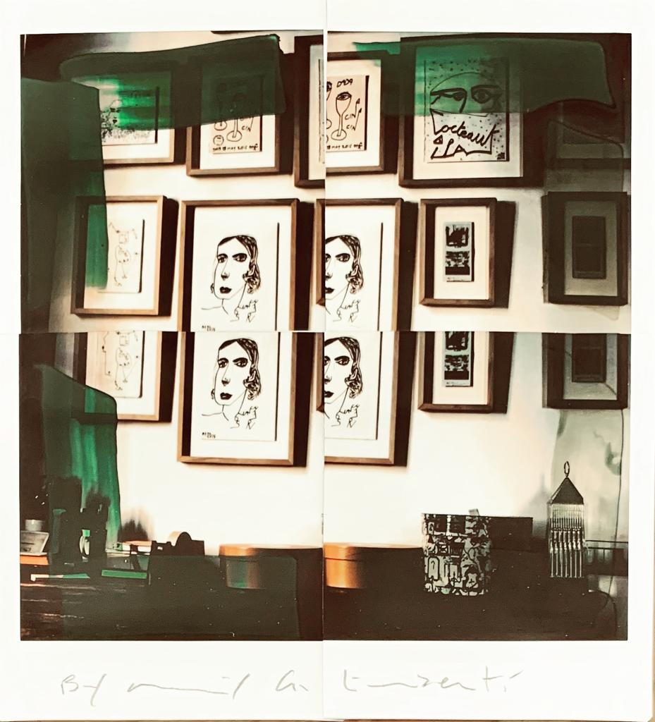 Fotografie solidali di Maurizio Galimberti CV ... a casa ... con lo sguardo ed i sogni dentro la casa ... n°8