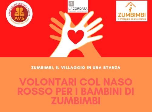 Volontari col Naso Rosso per il Progetto Zumbimbi