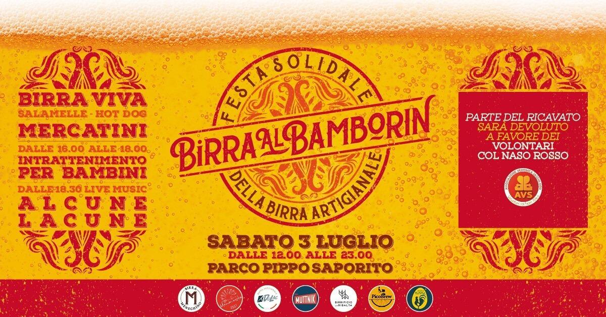 Festa solidale della birra artigianale